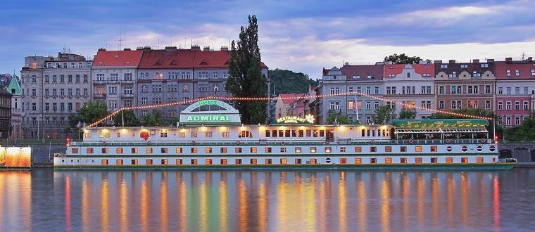 Botel Admiral, Prag
