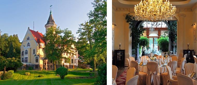 Hotel Bursztynowy Palac, Swieszyno