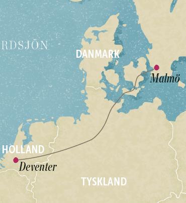 resa euro sexig i Malmö