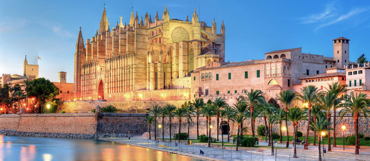 Barcelona och Mallorca ✈