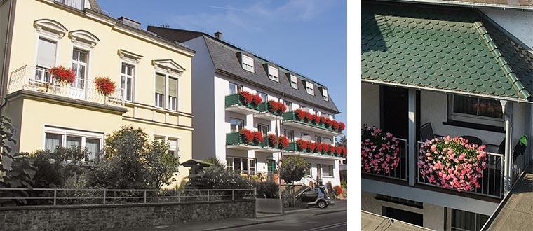 Gastehaus Rheinhotel, Rüdesheim am Rhein