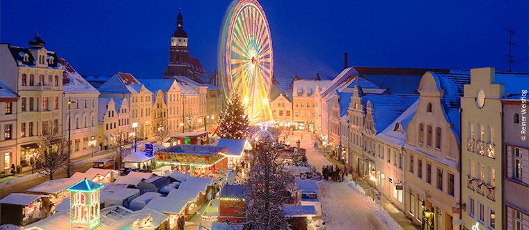 Julmarknad i Spreewald