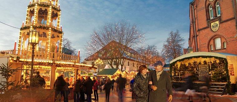 Julmarknad i Stade