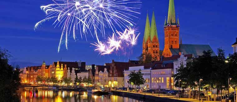Nyår i Lübeck Bussresa