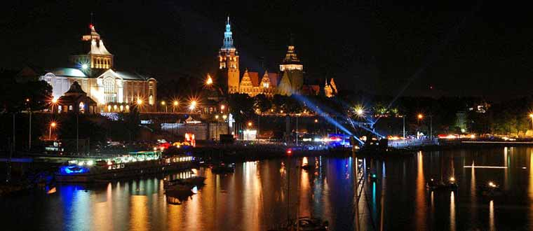 Nyår i Szczecin (Stettin)