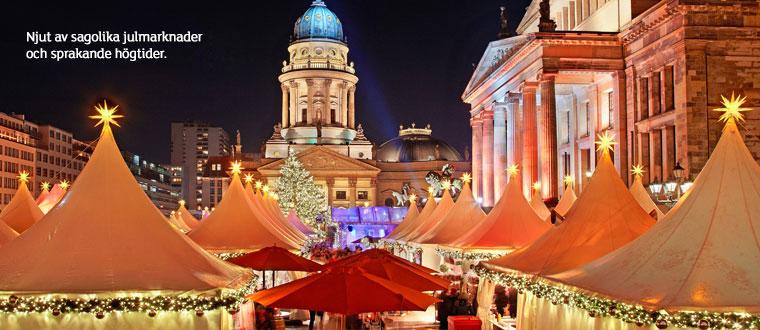 Sagolika julmarknader och sprakande högtider!